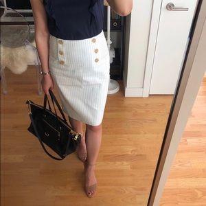Striped Sailor Pencil Skirt